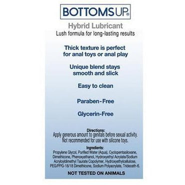 Bottoms Up Hybrid Lube - 8.6 Fl. Oz.