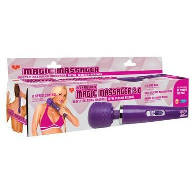 TLC Rechargeable Magic Massager 2.0 - 110V