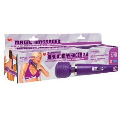 Tlc Rechargeable Magic Massager 2.0 - 220v Euro