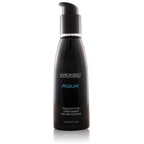Aqua Water-Based Lubricant - 4 oz.