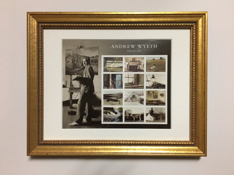 Andrew Wyeth Commemorative Framed Stamps