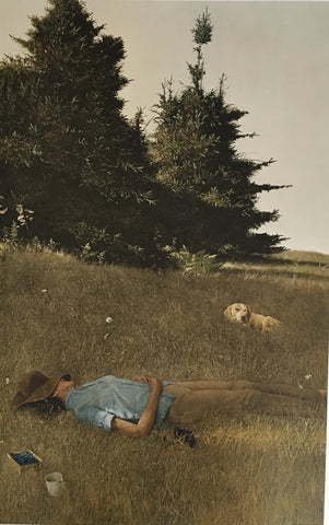Distant Thunder by Andrew Wyeth