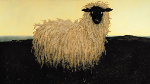 Portrait of Lady by Jamie Wyeth