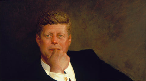 Portrait of John F. Kennedy by Jamie Wyeth
