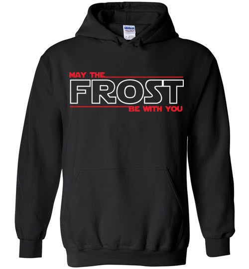 May the FROST Be With You - Heavy Blend Hoodie - BLACK