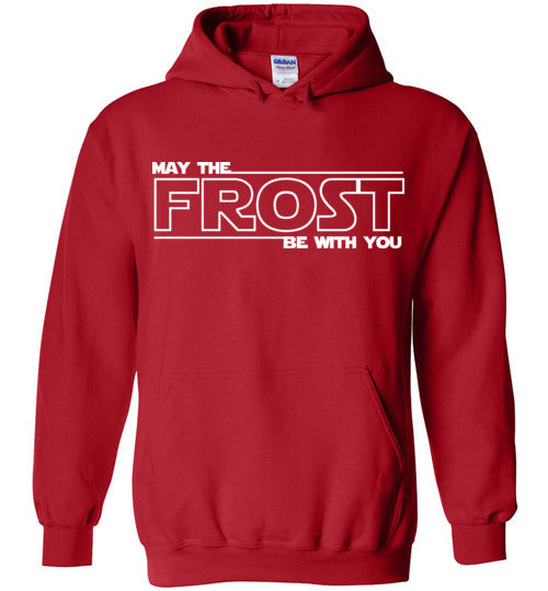 May the FROST Be With You - Heavy Blend Hoodie - RED