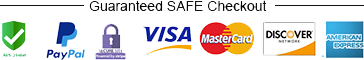 Guaranteed SAFE SECURE Checkout