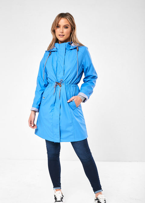 25002 Raincoat with Drawstring