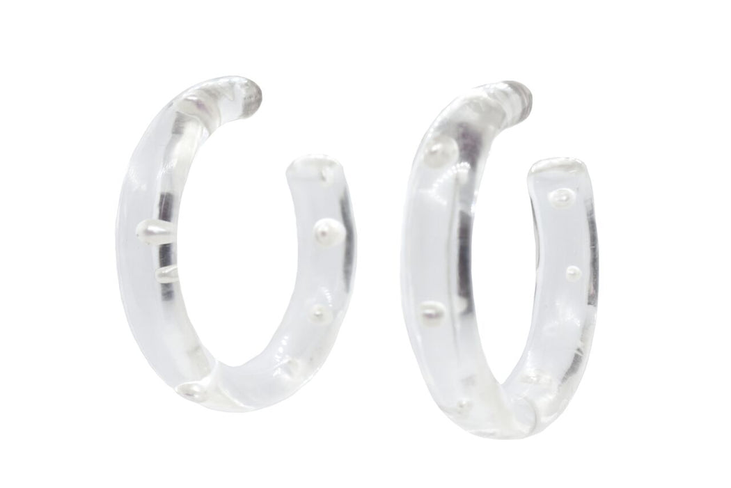 Lagrima Hoop Earrings