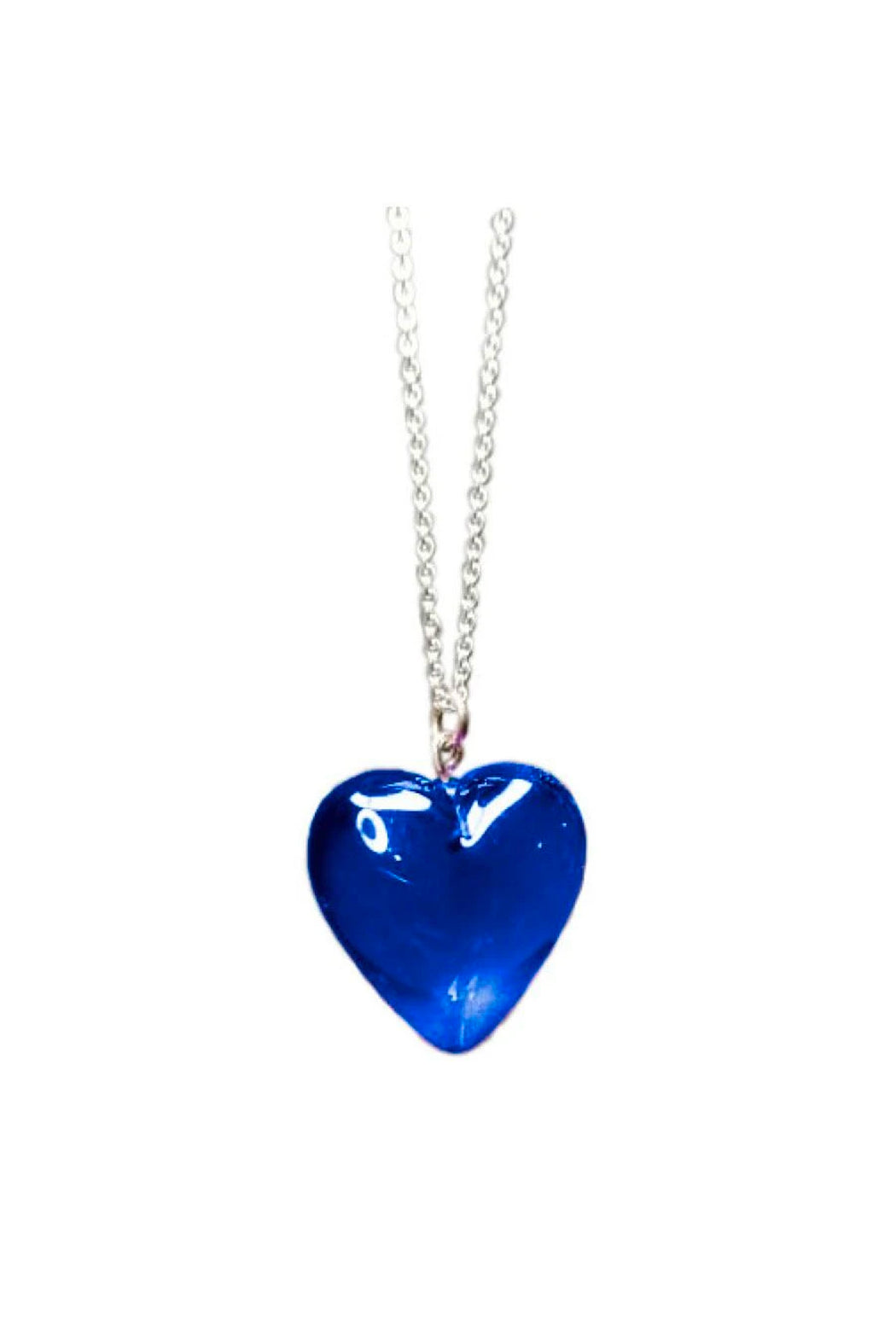 Resin Heart Color Necklace