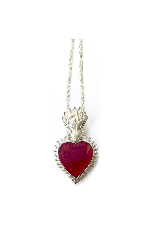 Heart Of Glass Necklace