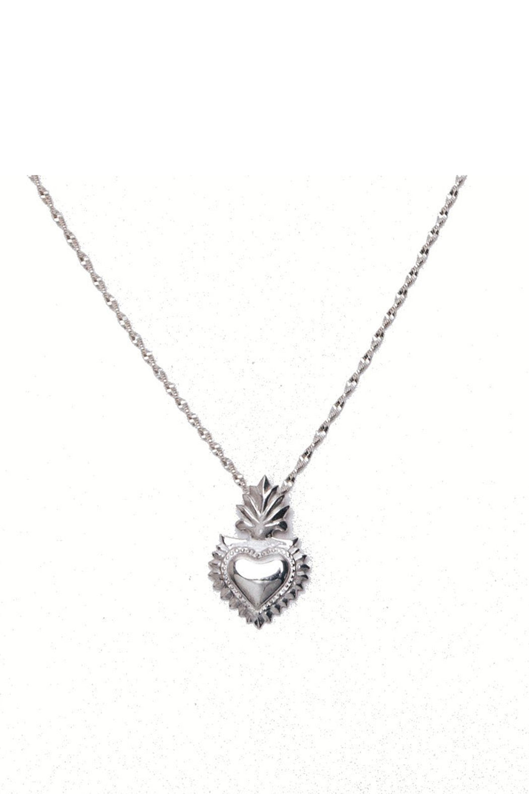 Hearts on Fire I Charm Necklace