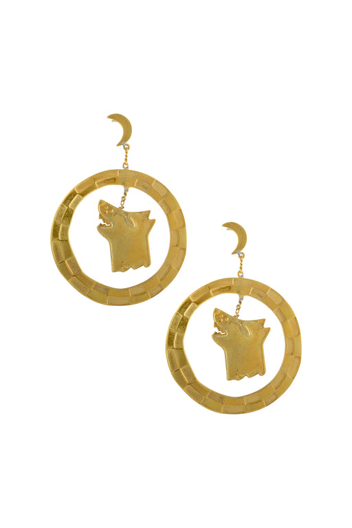 Leo Moon Earrings