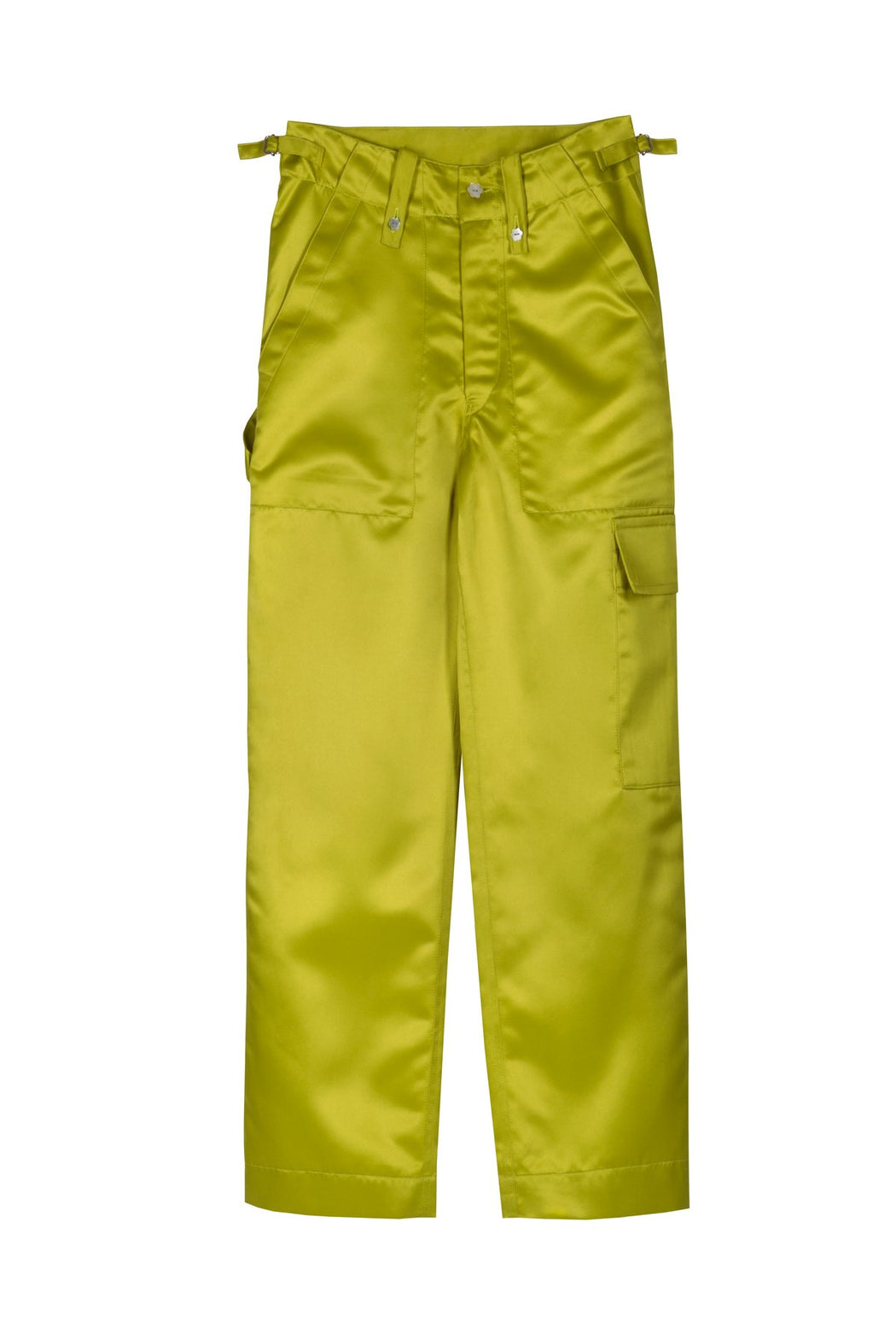 Jacarandas Green Army Trousers