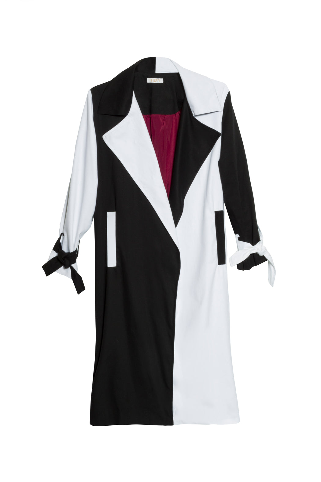 Black and White Trench