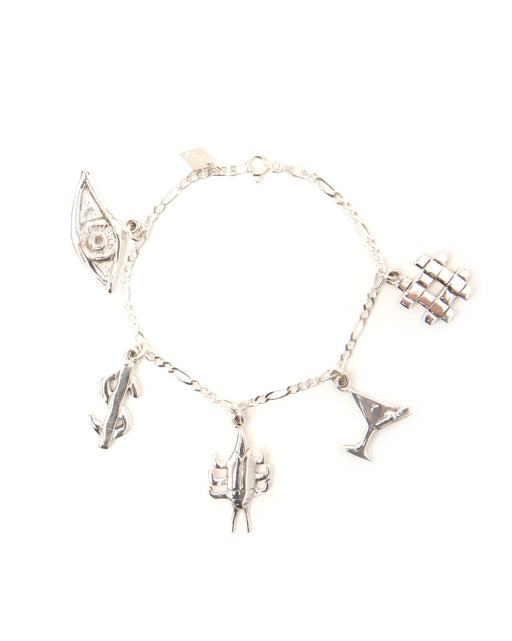 The New York Nightlife Charms Bracelet