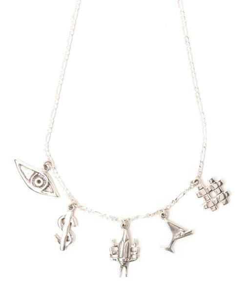 The New York Nightlife Charm Necklace