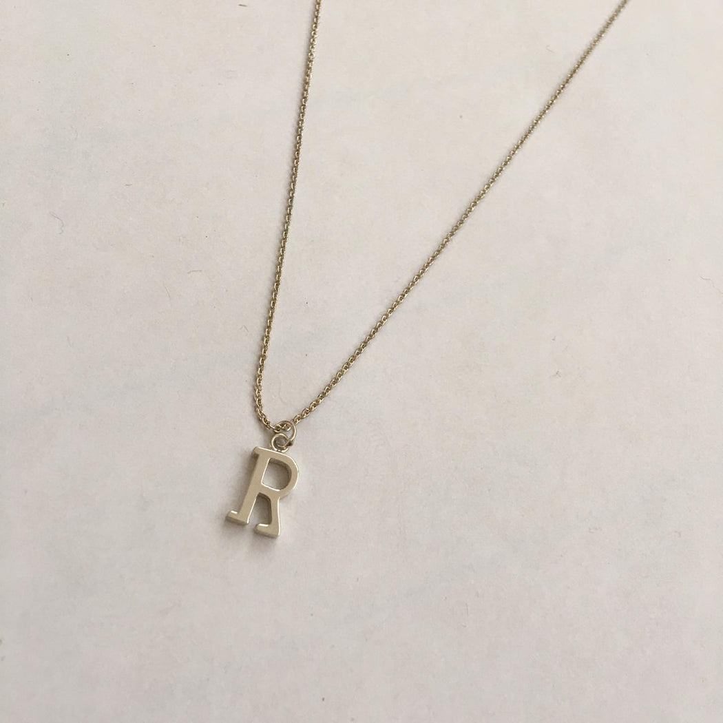 Single charm necklace R