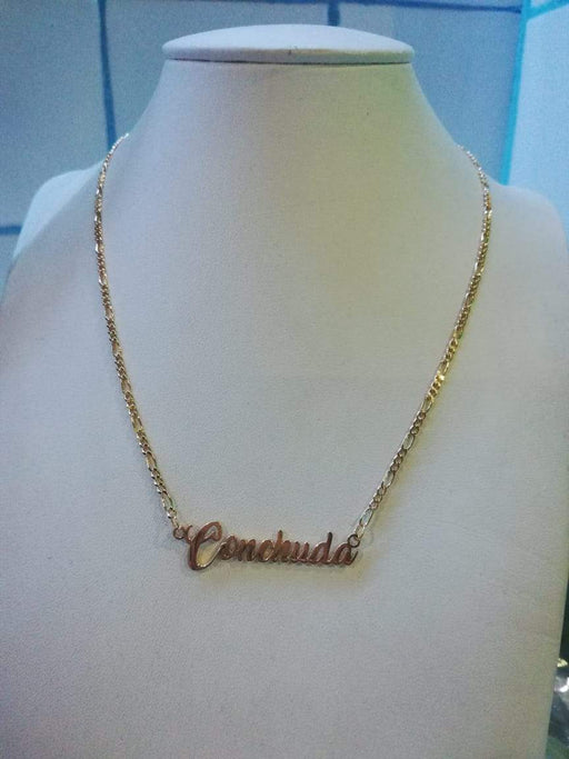 CONCHUDA TAG NECKLACE