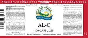 Nature's Sunshine Products, AL-C (100 Capsules)