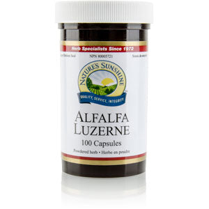 Nature's Sunshine Products, Alfalfa (100 Capsules)