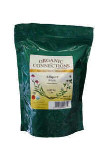 Organic Connections, Allspice, Whole, Organic (1 lb)