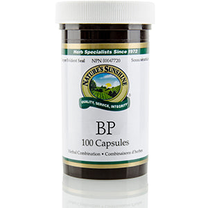 Nature's Sunshine Products, BP (100 Capsules)