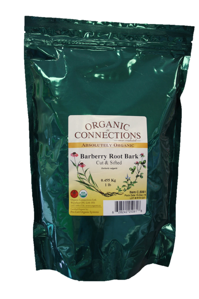 Organic Connections, Barberry Root Bark, Organic (1 lb)