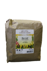 Organic Connections, Bay Leaf, Whole, Organic (1 lb)