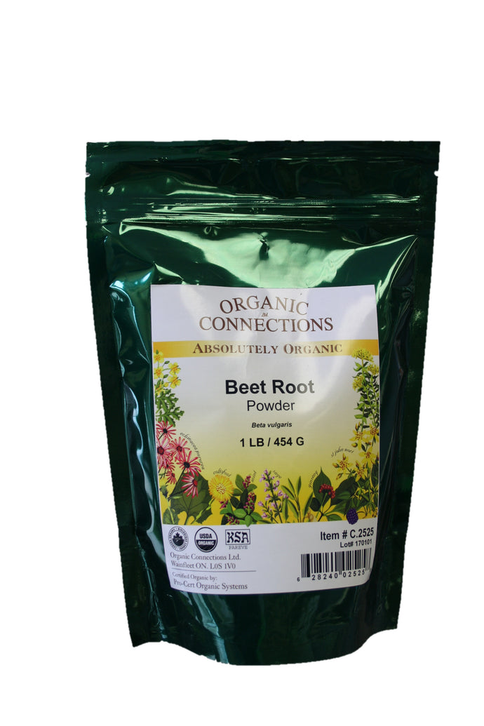 Organic Connections, Beet Root Powder, Organic (1 lb)
