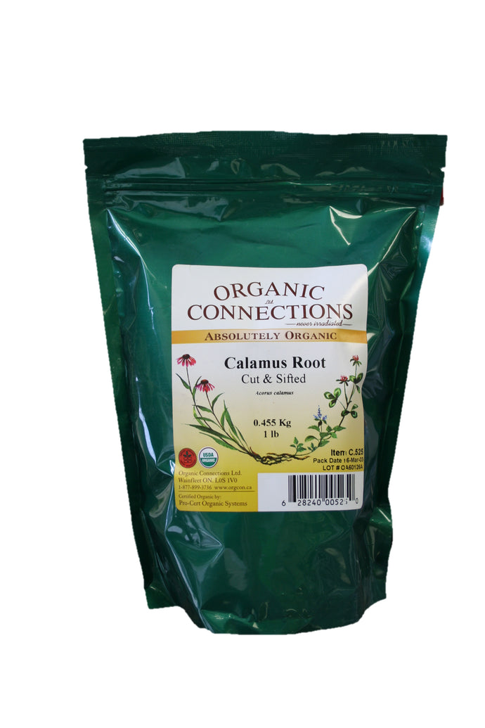 Organic Connections, Calamus Root, Cut and Sifted, Organic (1 lb)