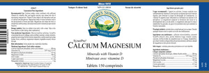 Nature's Sunshine Products, Calcium Magnesium Minerals with Vitamin D, SynerPro (150 Tablets)