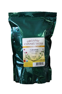 Organic Connections, Calendula Flowers, Whole, Organic (1 lb)
