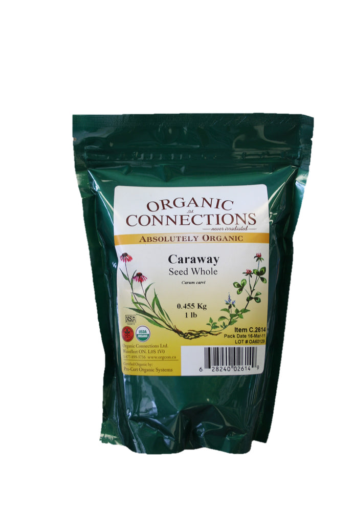 Organic Connections, Caraway Seed, Whole, Organic (1 lb)