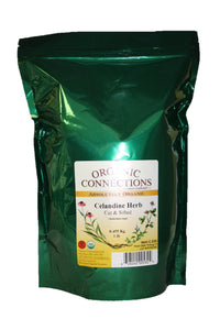 Organic Connections, Celandine Herb, Cut and Sifted, Organic (1 lb)