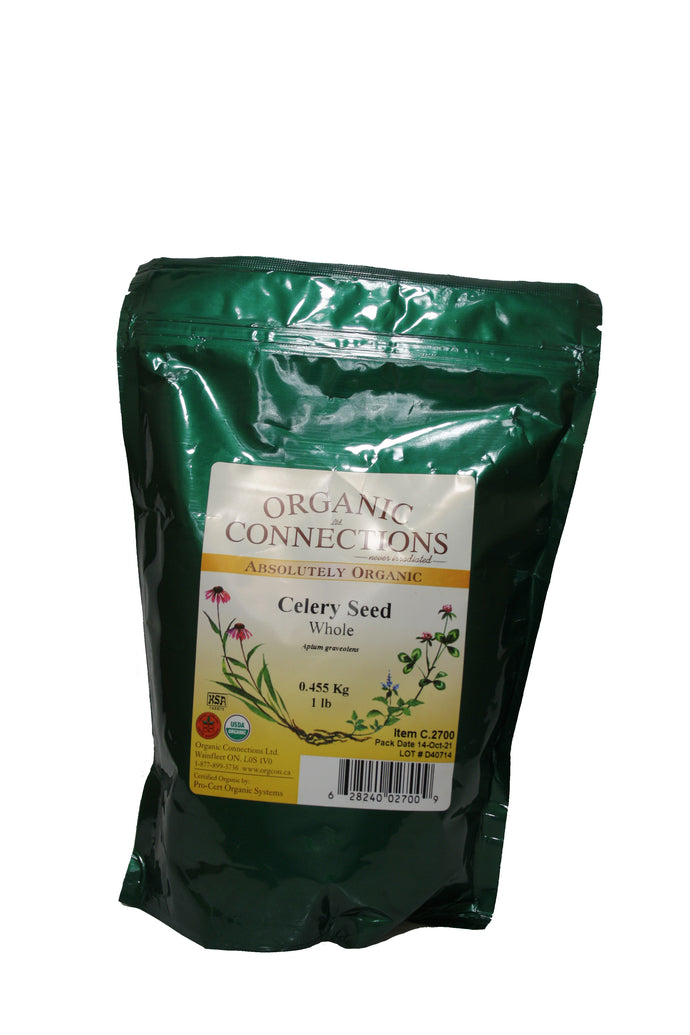Organic Connections, Celery Seed, Whole, Organic (1 lb)