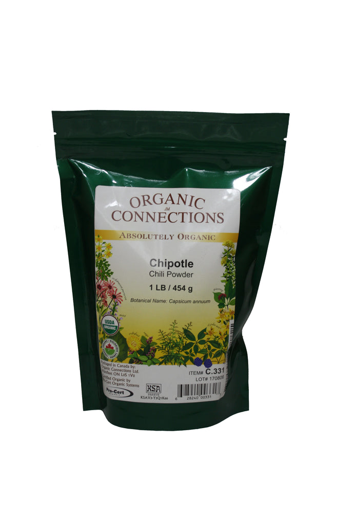 Organic Connections, Chipotle Chili Powder, Organic (1 lb)