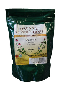 Organic Connections, Chlorella Powder, Organic (1 lb)