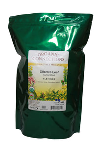 Organic Connections, Cilantro Leaf, Cut and Sifted, Organic (1 lb)