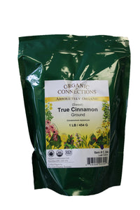 Organic Connections, Cinnamon Ground, Organic (1 lb)
