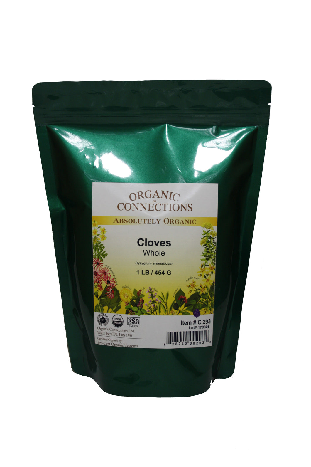 Organic Connections, Cloves, Whole, Organic (1 lb)