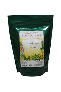 Organic Connections, Cocoa Powder, Organic (1 lb)