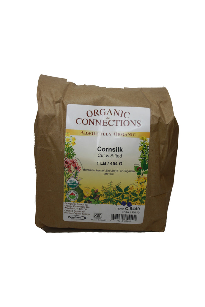 Organic Connections, Cornsilk, Cut and Sifted, Organic (1 lb)
