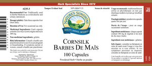 Nature's Sunshine Products, Cornsilk, 400 mg (100 Capsules)