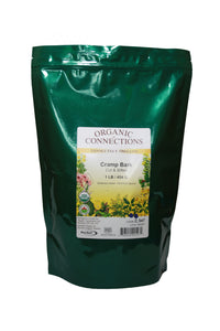 Organic Connections, Cramp Bark, Cut and Sifted, Organic (1 lb)