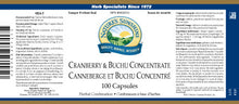 Nature's Sunshine Products, Cranberry & Buchu Concentrate, 435 mg (100 Capsules)