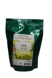 Organic Connections, Cumin Seed, Whole, Organic (1 lb)