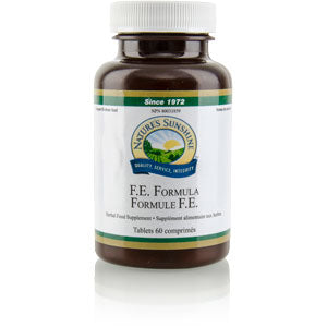 Nature's Sunshine Products, F.E. Formula, Time Release (60 Tablets)