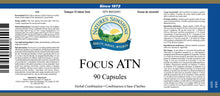 Nature's Sunshine Products, Focus ATN (90 Capsules)