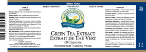 Nature's Sunshine Products, Green Tea Extract (60 Capsules)